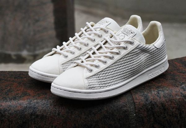 Adidas Stan Smith Woven (tissée) off White (beige) (1