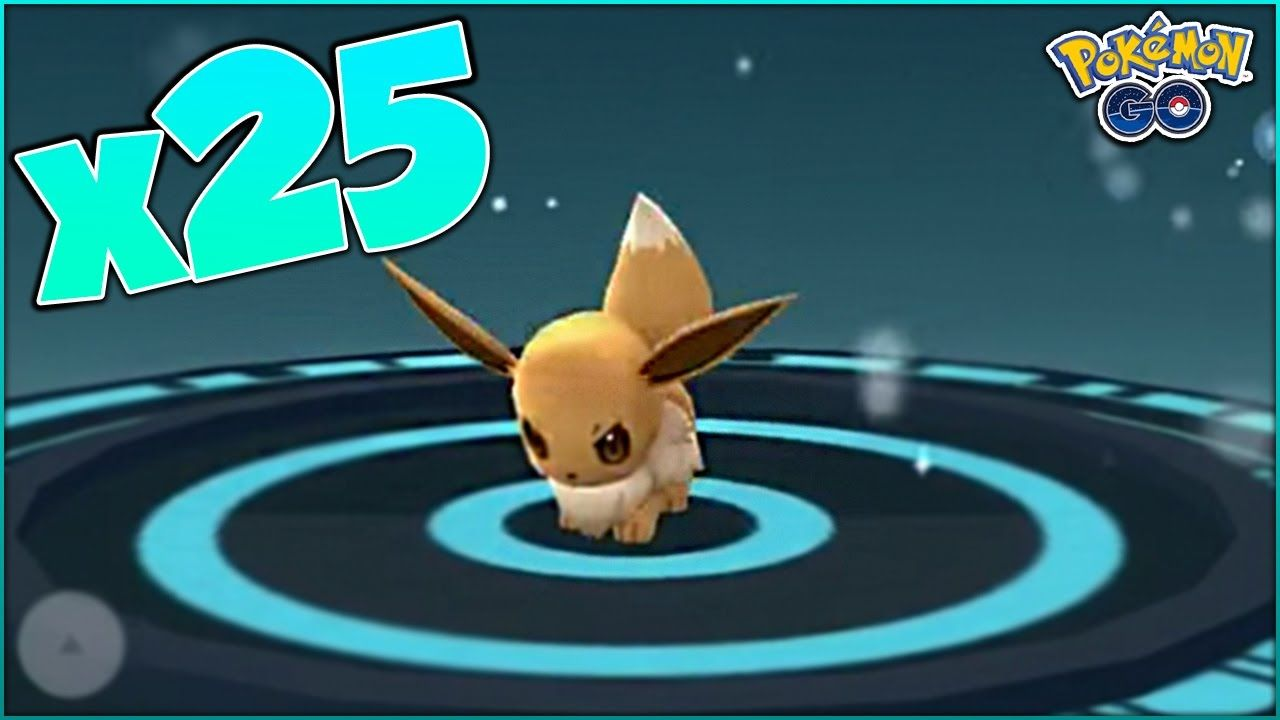 WHAT HAPPENS IF YOU POWER UP EEVEE 25 TIMES In Pokemon Go?! GENERATION 2...