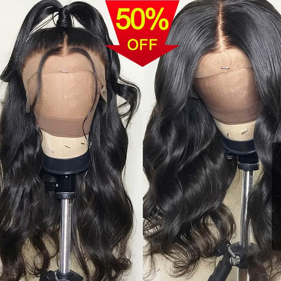 360 Pre Plucked Lace Frontal Wig with Baby Hair Around Body