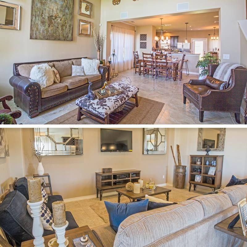 which living room would you choose —open concept living and dining