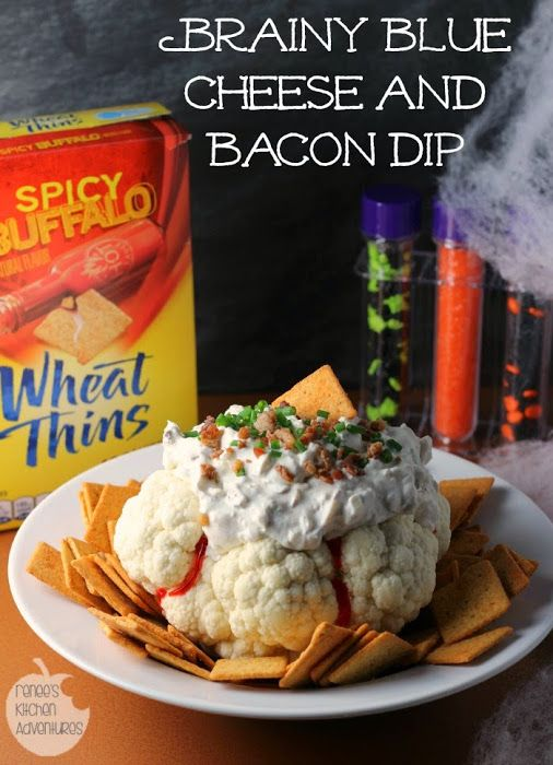 Get creepy with this fun and spooky way to serve a deli - spooky halloween food ideas