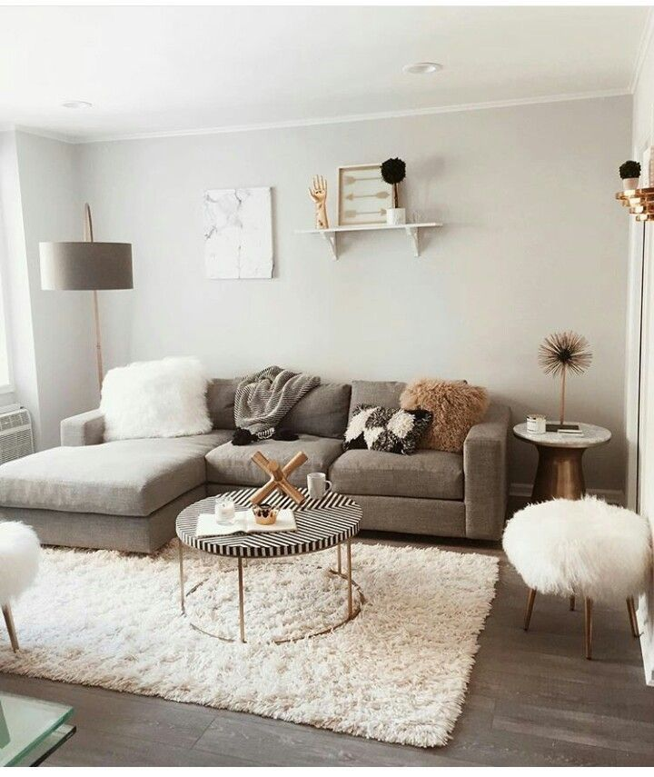 Pin By Brittnie Smithley On Home Organization Modern Apartment Living Room Living Room Decor Apartment Small Apartment Living Room