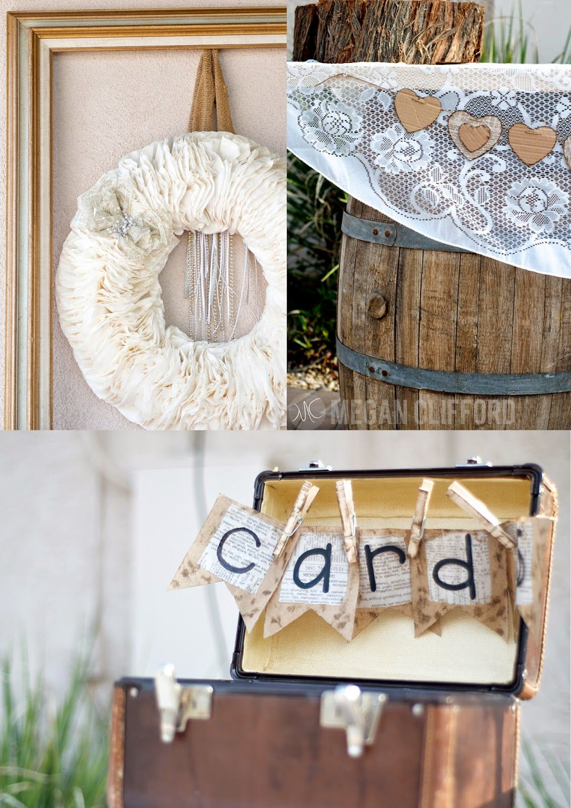 DIY wedding decor and ideas rustic and beautiful wedding in arizona