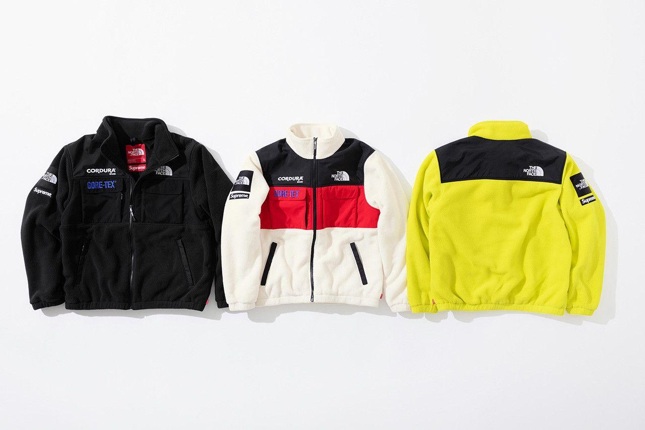 Supreme x The North Face Fall 2018 Collection jackets outerwear coats  GORE-TEX Cordura bag new york tokyo d03e412a9