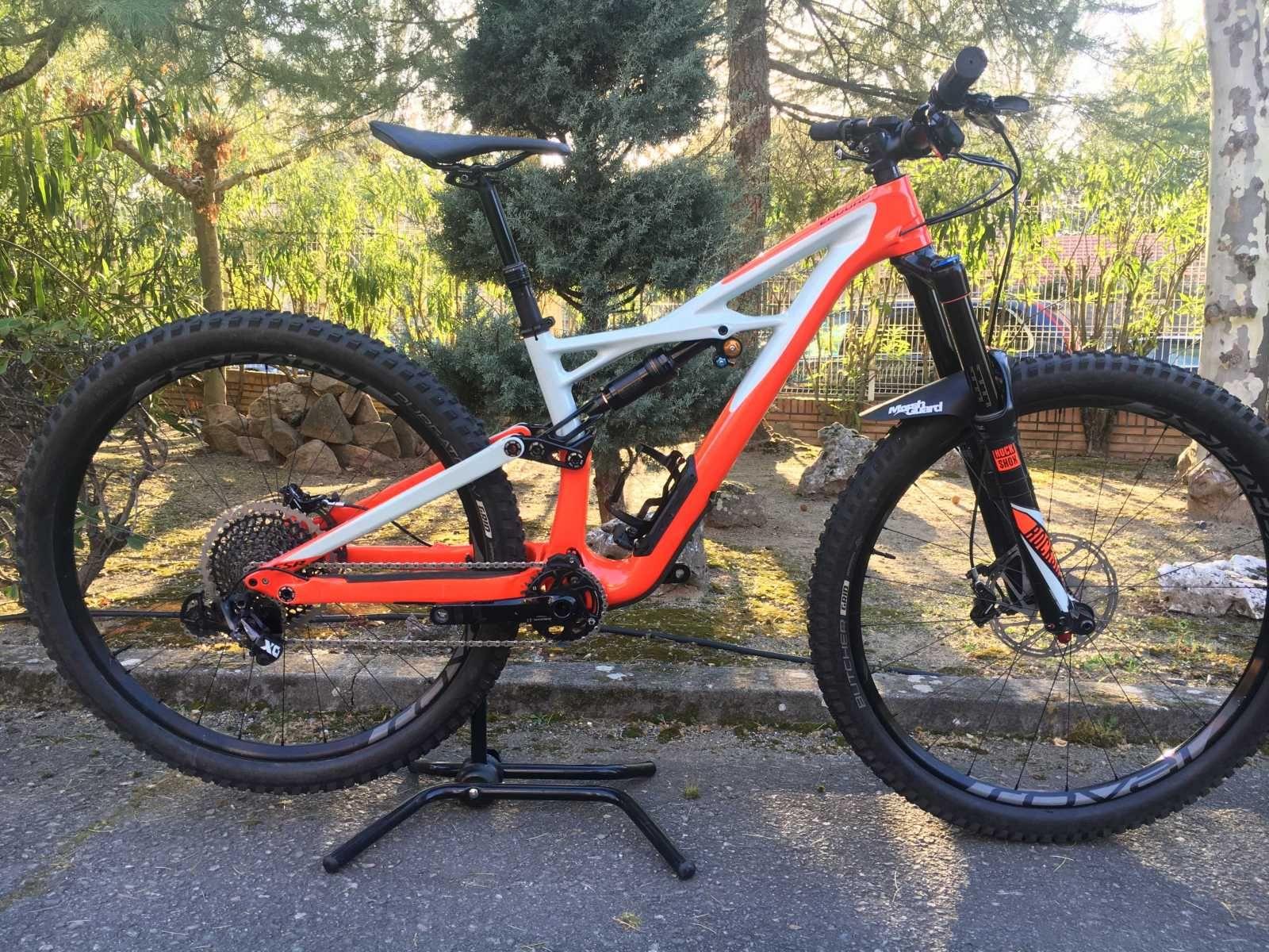Bicicleta De Montaña Specialized Enduro Ref 44601 Talla S Año 2017 Cambio Sram X01 Eagle Cuadro De Carbono Suspensión Dobl Bicicletas Bicicletas Mtb Mtb
