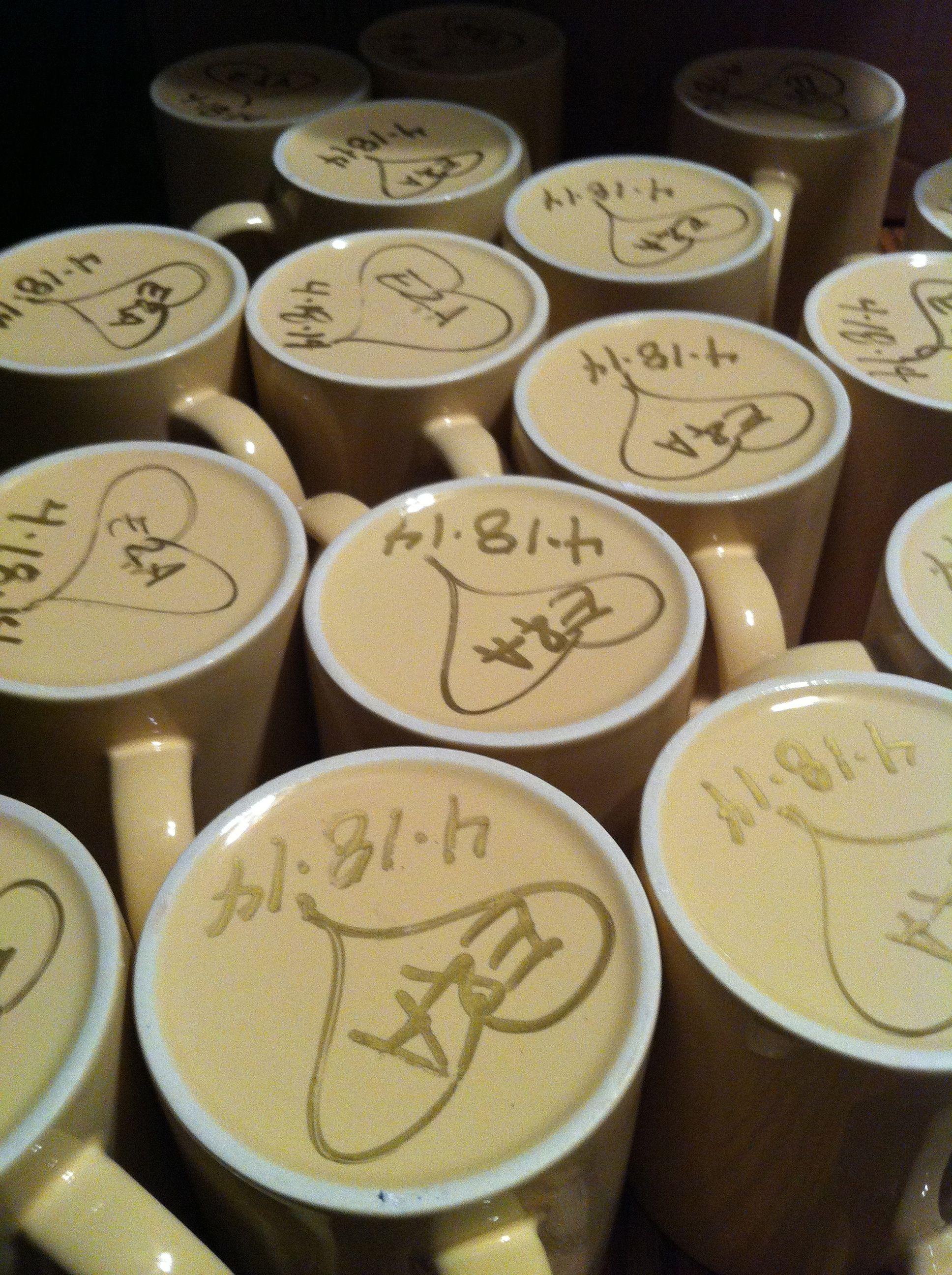 Coffee Mug Wedding Favors Wedding mugs, Wedding guest