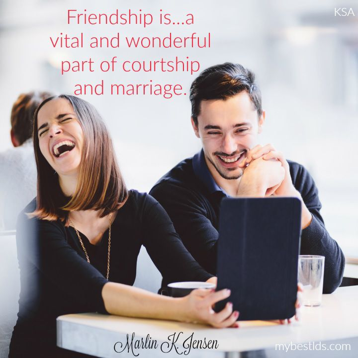 Courtship Now: Friendship to Courtship
