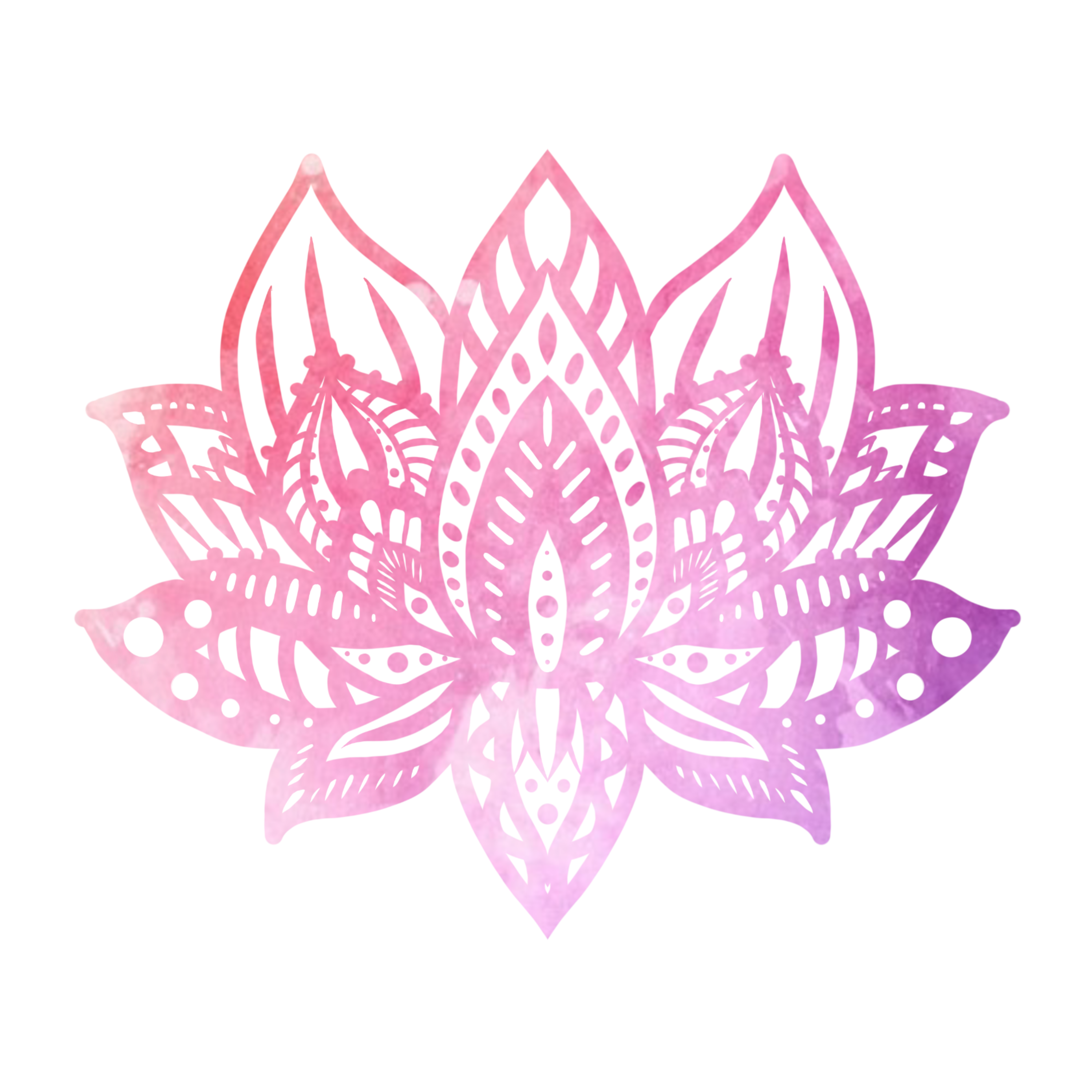 Pink And Purple Pastel Watercolor Lotus By Eliza Bentley Pink Lotus Tattoo Pink Lotus Lotus Mandala