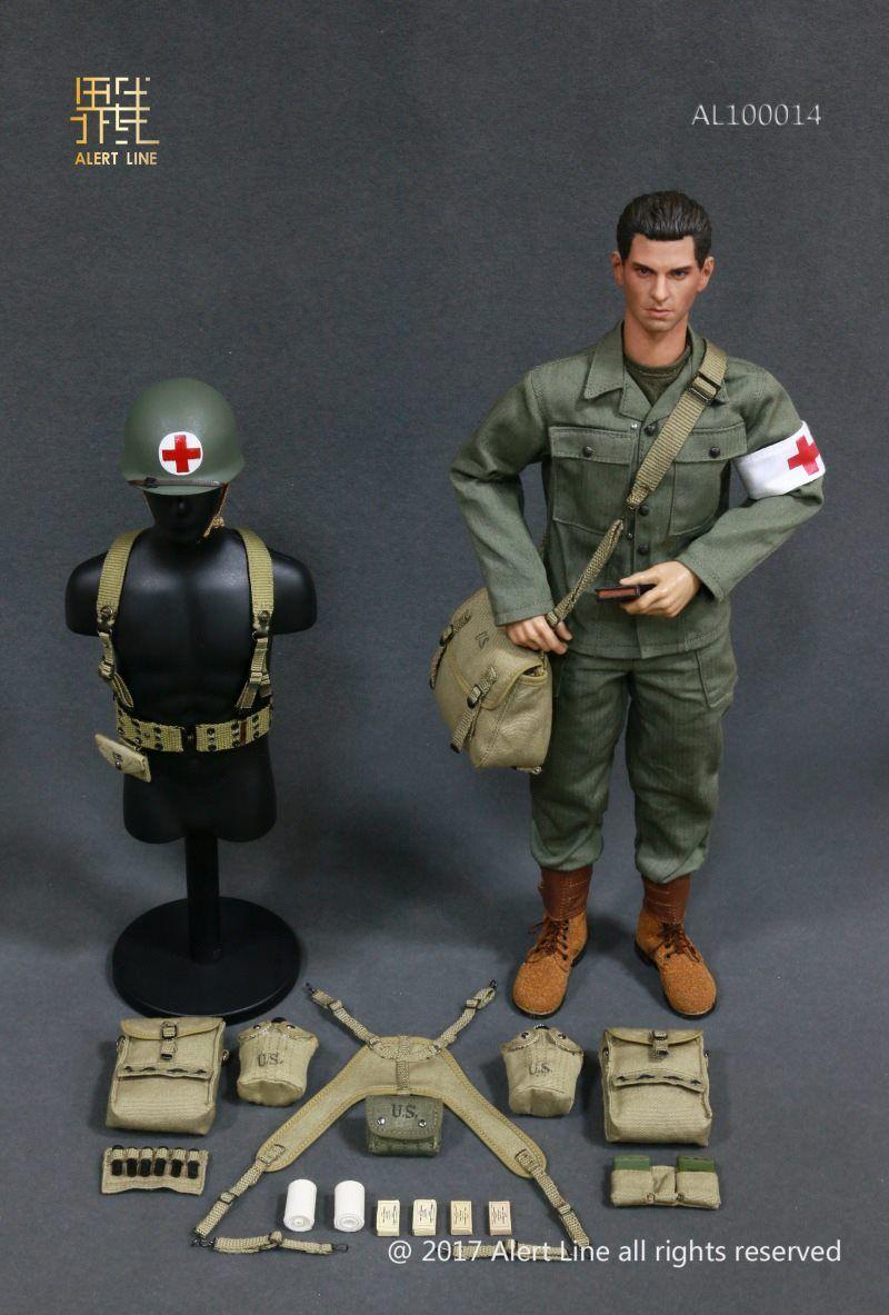 9456f349 US Army Medic Uniform & Head Sculpt  One-sixth scale military uniforms   100014