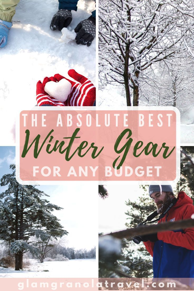 Budget cold weather gear