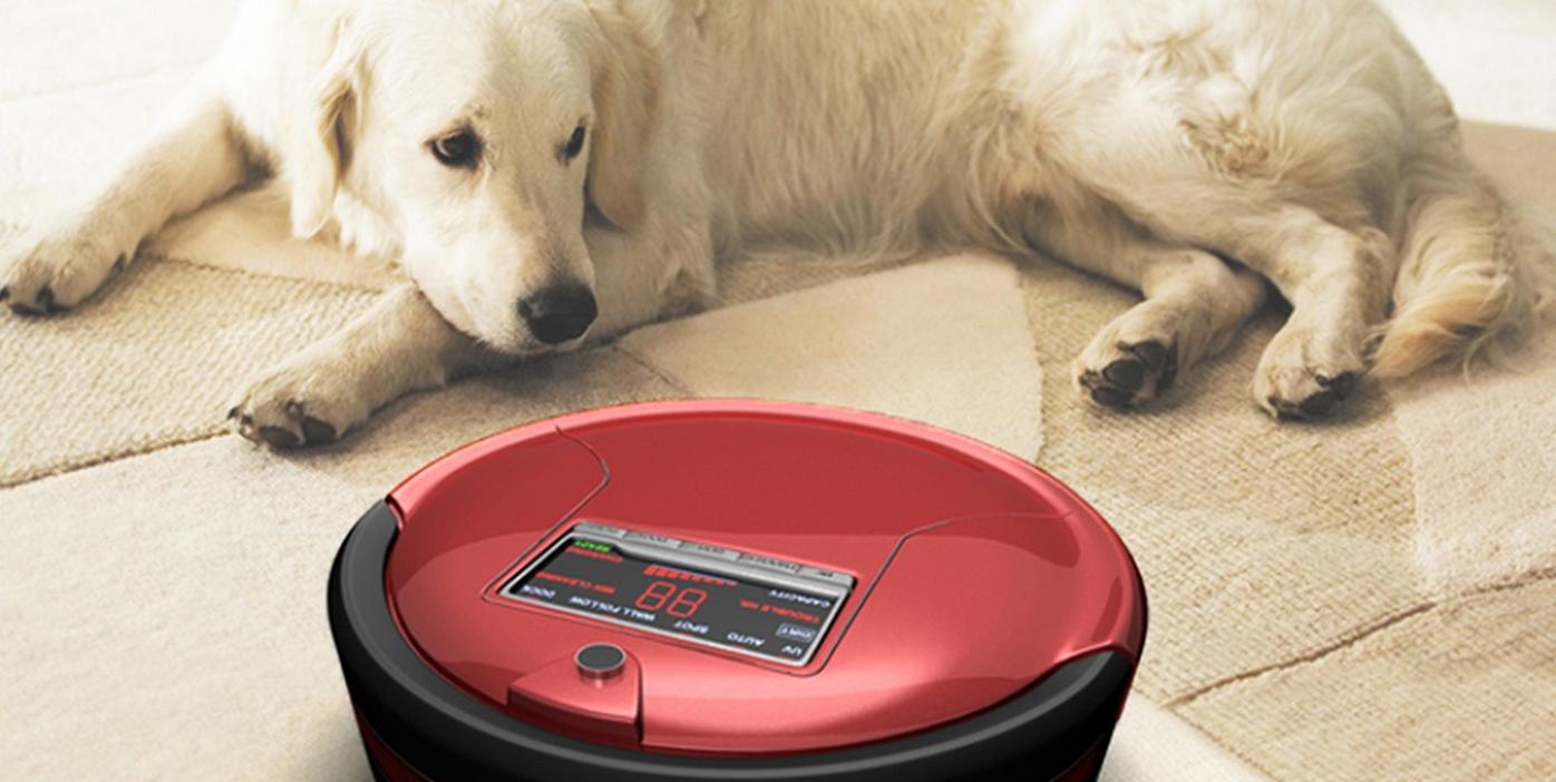 Bobsweep Standard Or Pet Hair Robotic Vacuum And Mop