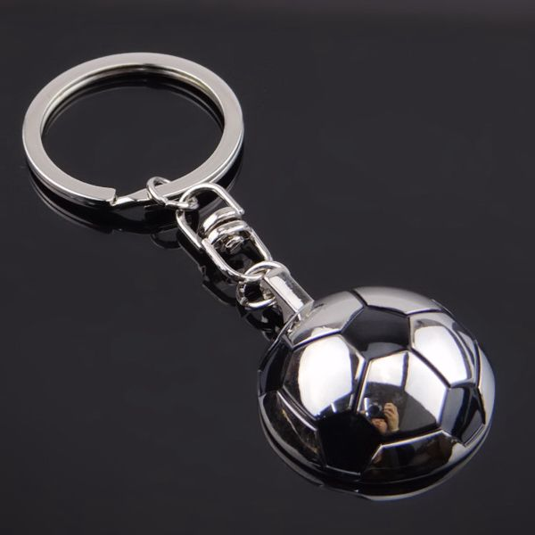 Premium Quality Soccer Ball Keychain Made From Zinc Alloy Polished And Classic Gifts Lovely Gift Keychain