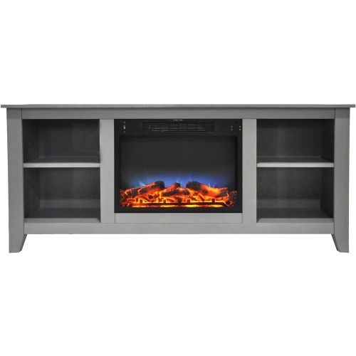 62 8 X15 2 X26 5 Santa Monica Fireplace Mantel With Led Insert