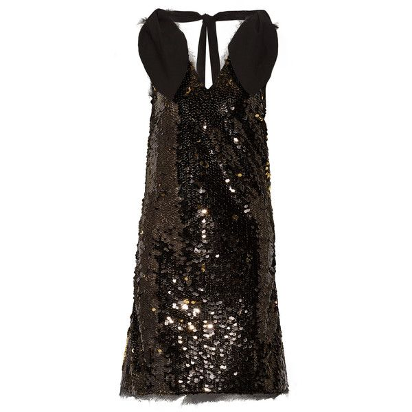 Faye Poplin-trimmed Sequined Tulle Mini Dress - Black Rejina Pyo 2018 New Cheap Price Clearance Very Cheap Cheap Sale Clearance Store Outlet Shop Clearance Low Price Fee Shipping dGVhD