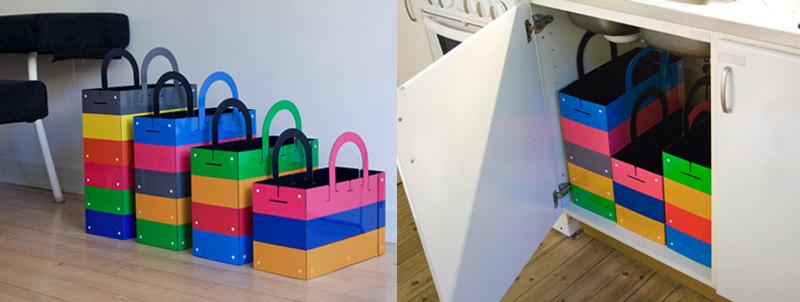 Husmus recycling system by Swedish brand Muungano