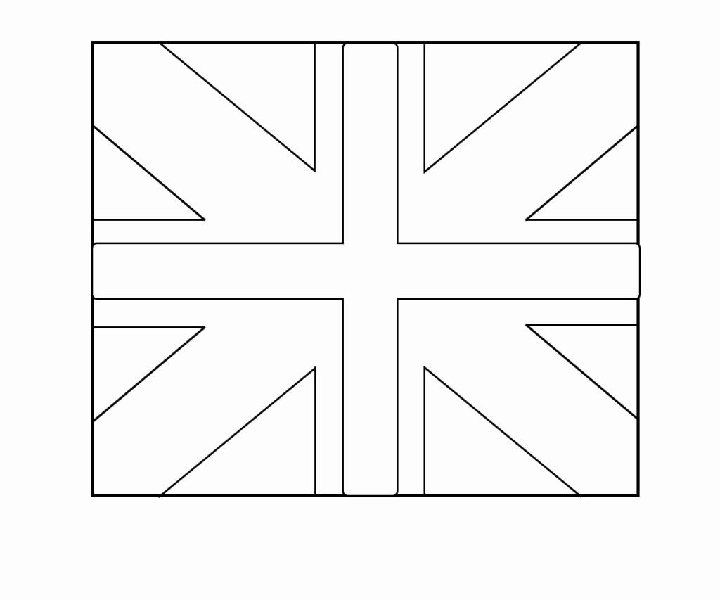 England Flag Coloring Page Inspirational English Britain