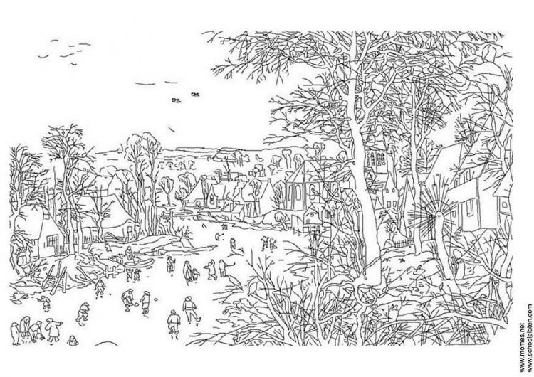 Fine Art Coloring Pages Coloring Pages Winter Famous Art Coloring Coloring Pages