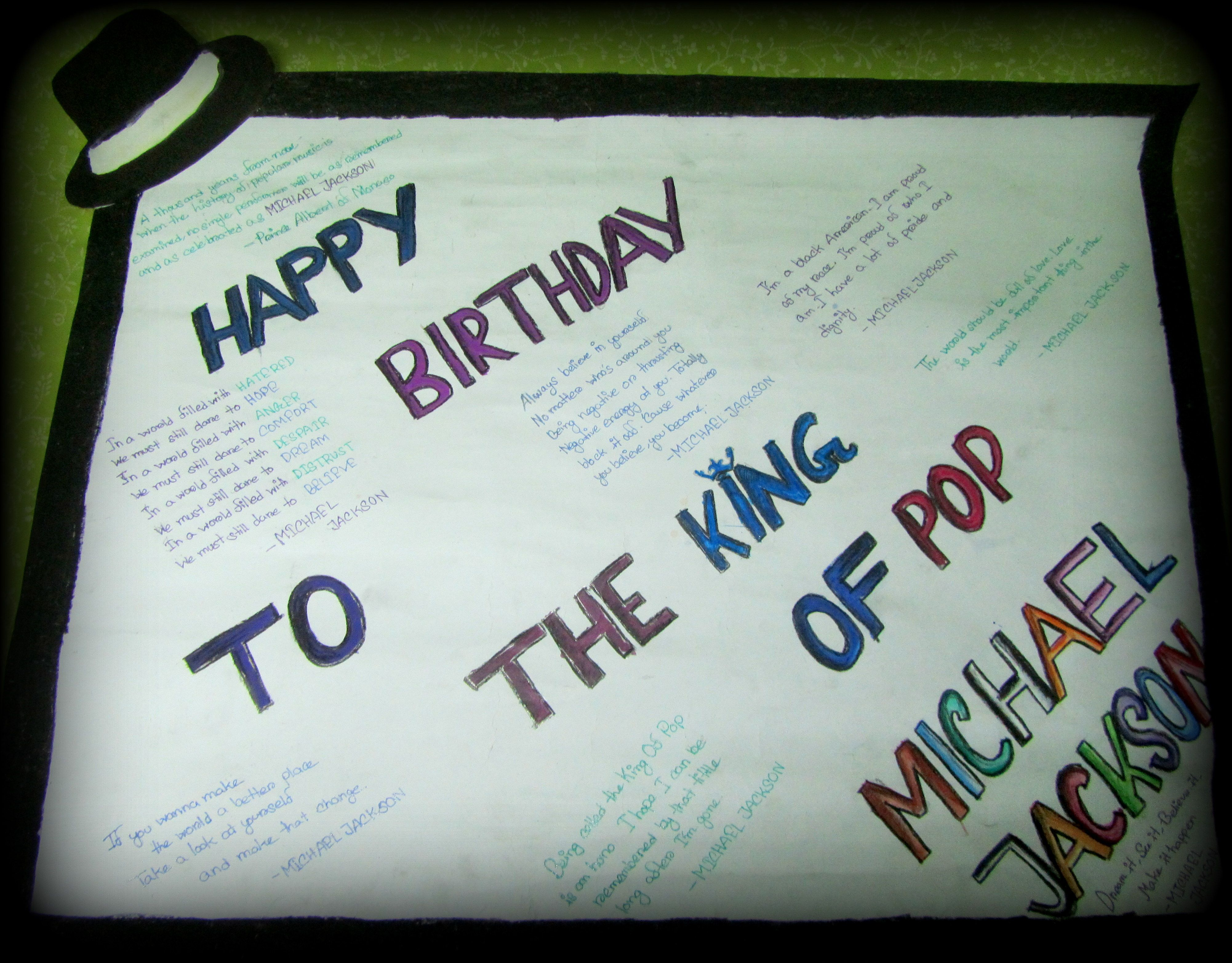 bbabfa94c3 Happy 57th birthday to the late king of pop (it s really hard for us ...