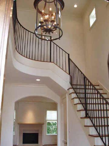 Foyer Lighting Fixtures Iron Fence With Images Foyer Lighting
