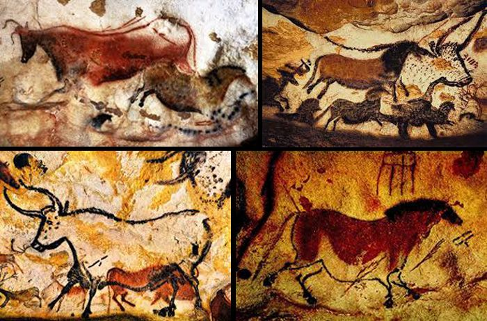 historylookingback | Cave paintings, Lascaux cave paintings, Painting