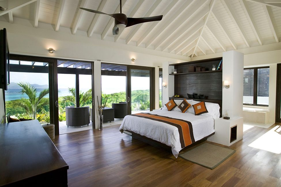 Bedroom views Reinterpreted Traditional Caribbean Architecture in ...