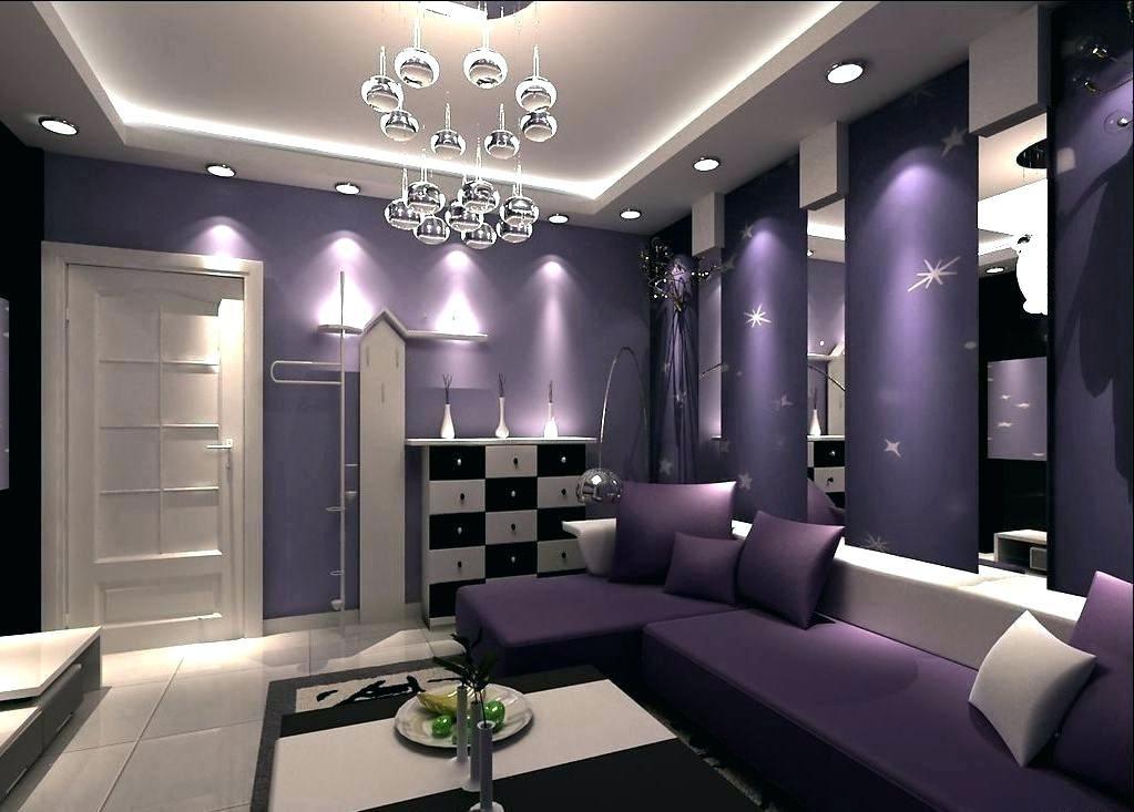 Best Dark Purple Walls Bedroom Dark Purple Walls White Wood 400 x 300