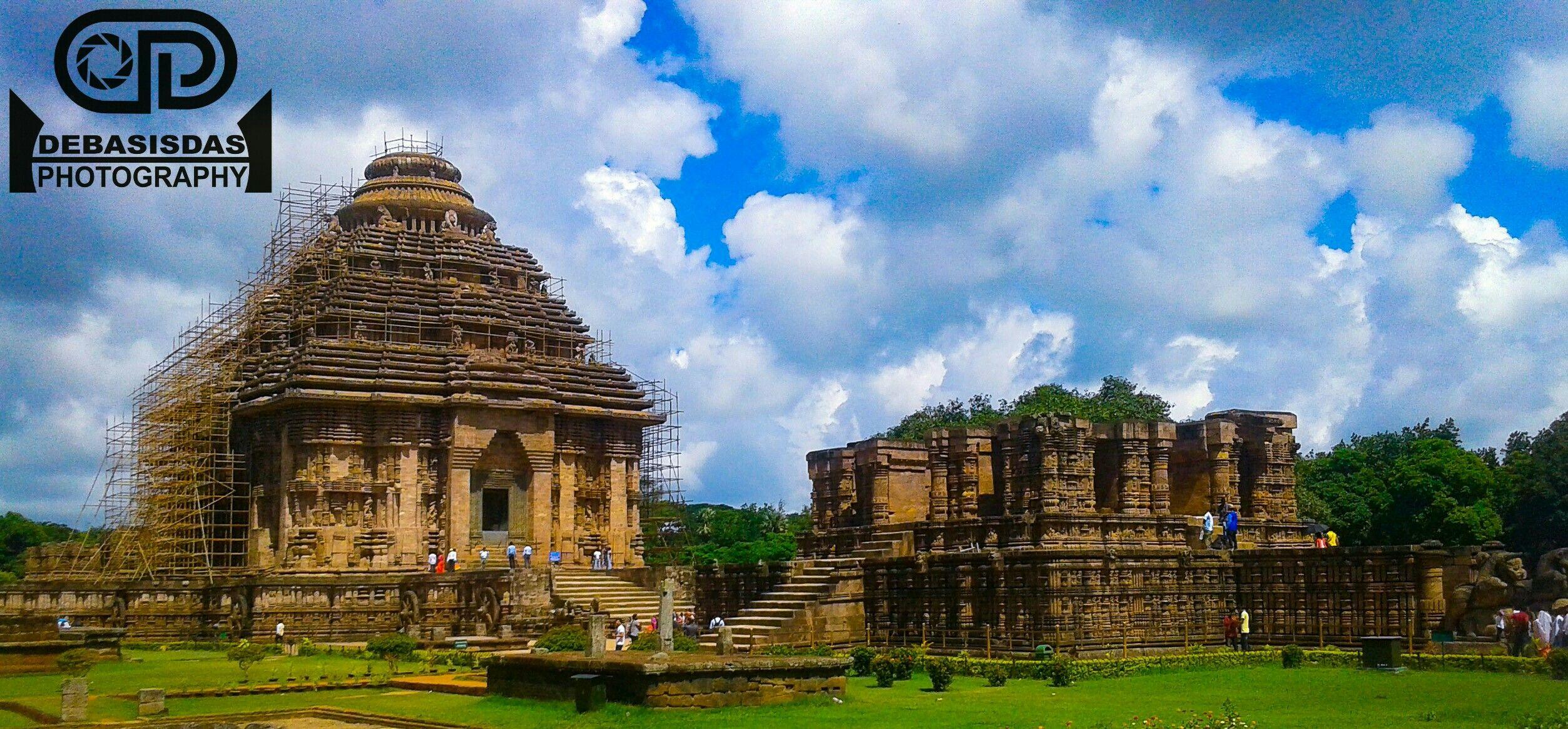 Konark Sun Temple From Orissa Konark Details Debasis Das Model