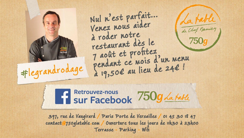 Restaurant 6g La table  6g, Adresse paris, Porte de versailles