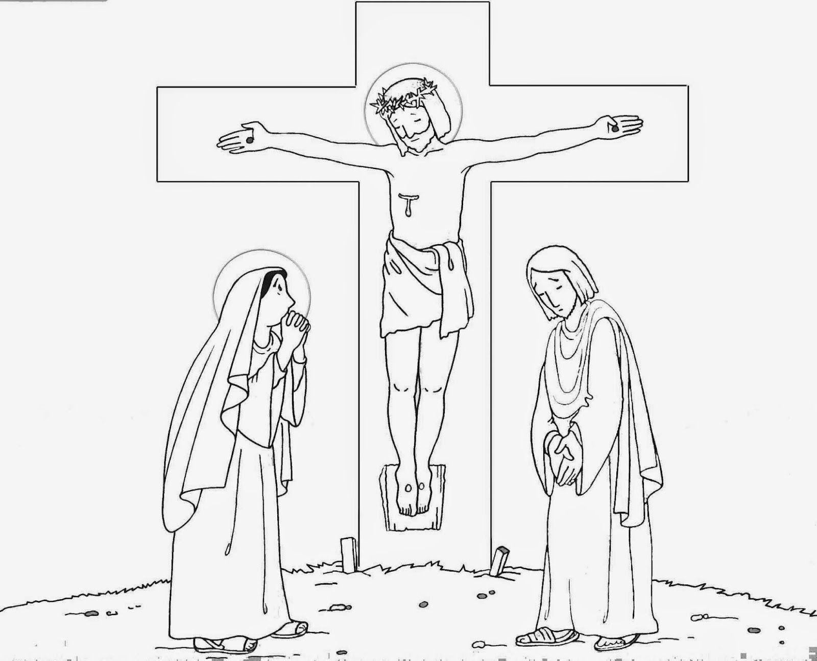 Dibujos para el Viernes Santo   Viernes santos, Santos y Dibujo