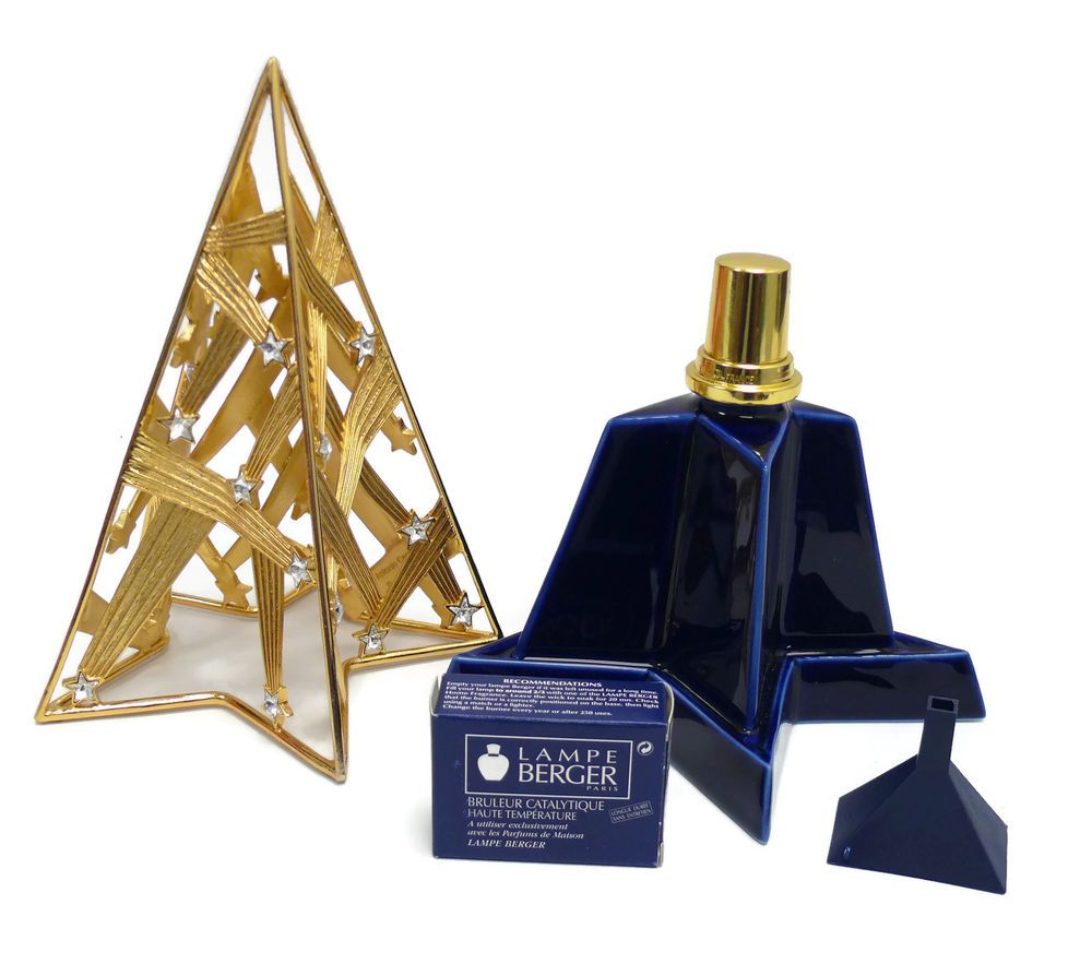 Retired Discontinued Signature Lampe Berger Fragrance Lamp Etoiles Filantes 5671 Lamps For Sale Perfume Bottles Fragrance
