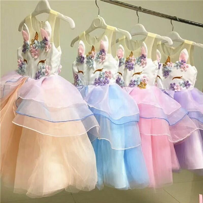 2cfd33e582f LIMITED EDITION Unicorn Princess Dress