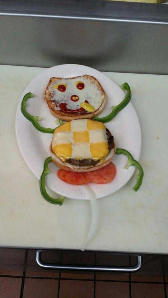 Horny burger guy..