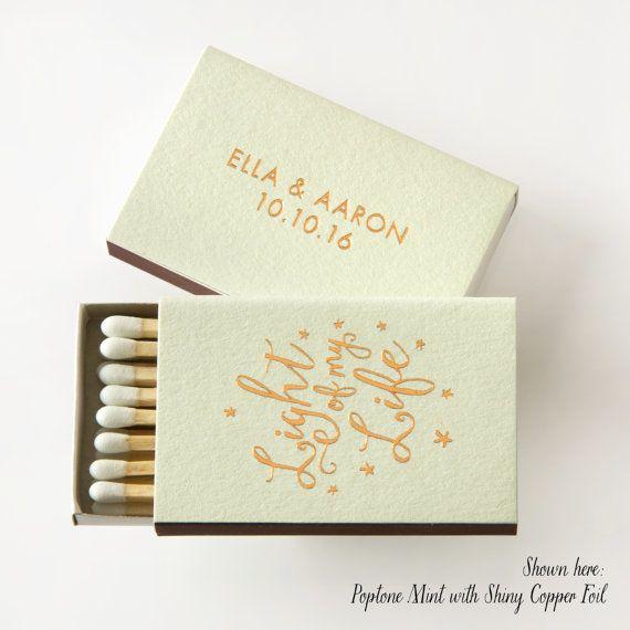 Custom Light Of My Life Matchboxes Wedding Matches Favors Etsy Wedding Match Boxes Wedding Matches Wedding Matches Favors