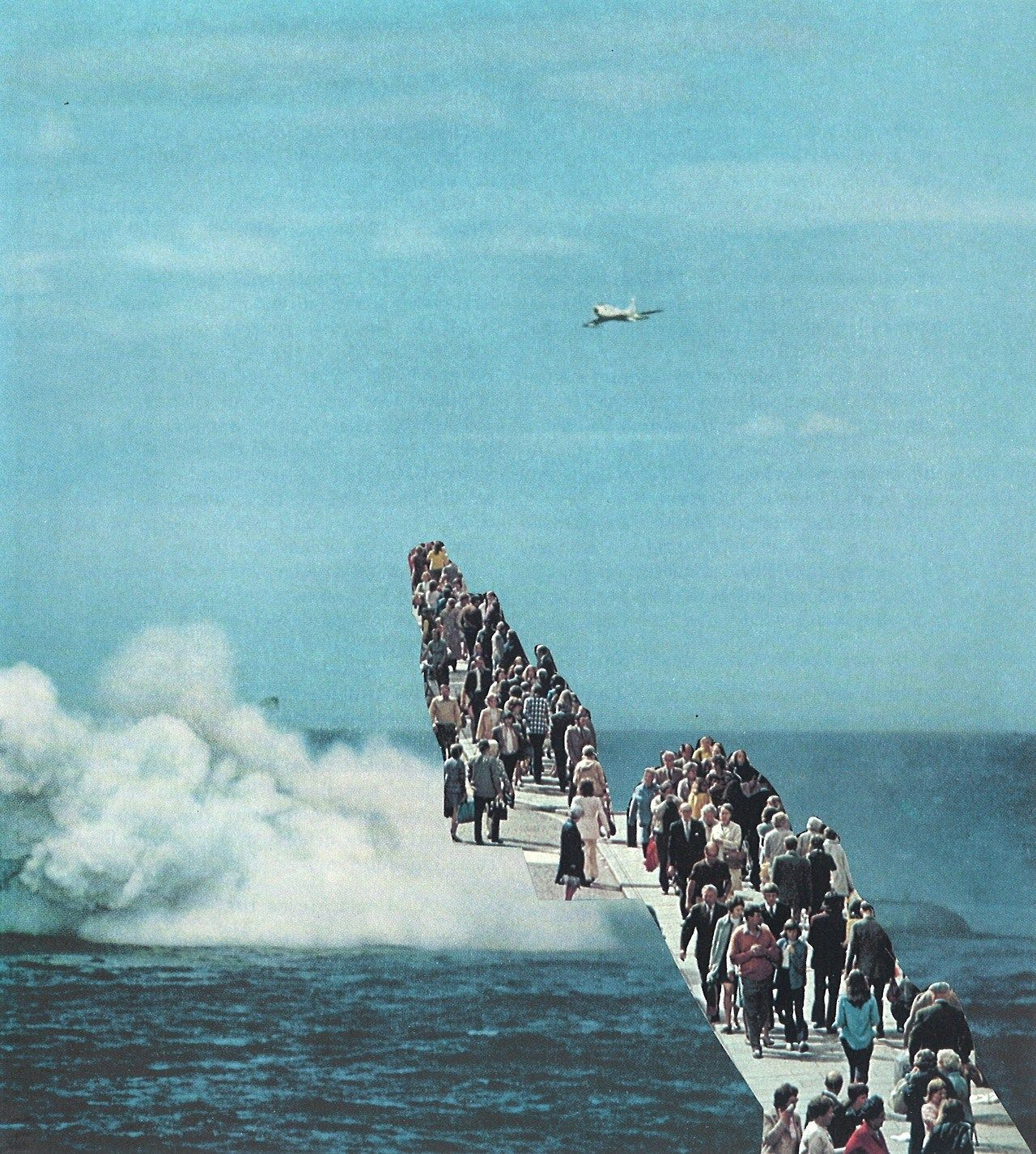 collageartbyjesse:  going nowhere society6tumblrfacebooktwitter