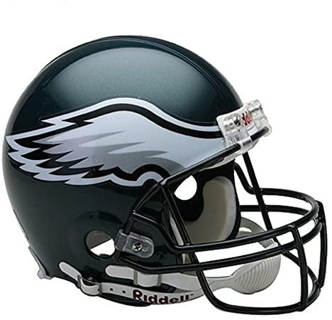 Amazon Com Nfl Philadelphia Eagles Full Size Proline Vsr4 Football Helmet Philadelphia Eagle Auth In 2020 Eagles Helmet Philadelphia Eagles Helmet Football Helmets