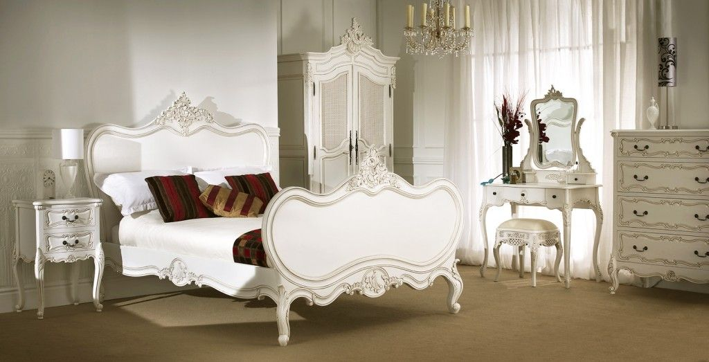 Invisioning A Toned Down Version Of This For The Spare Room  Home New French Bedroom Set Inspiration Design