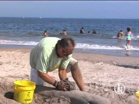 ▶ Sculpt With Sand - YouTube
