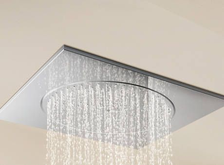 grohe ceiling shower head