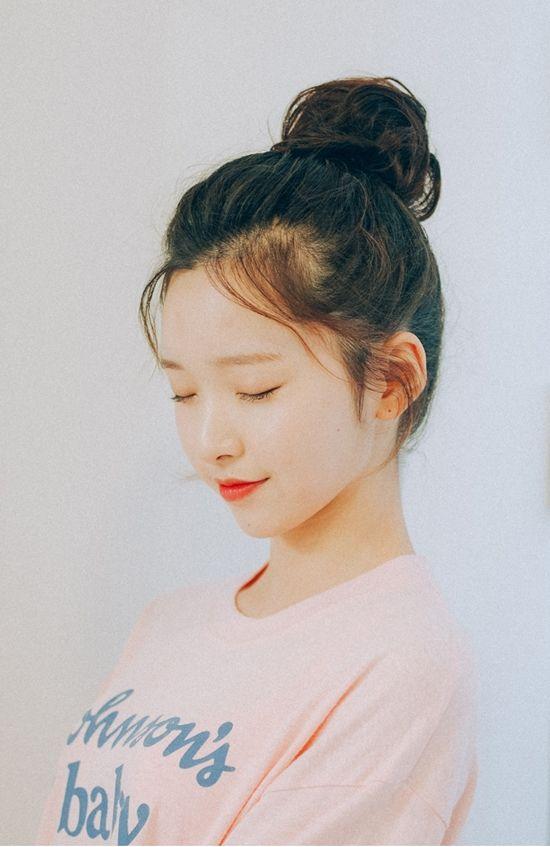 Cute Asian Semi Updo Hairstyle Asian Hair Hair Styles Bun Hairstyles For Long Hair