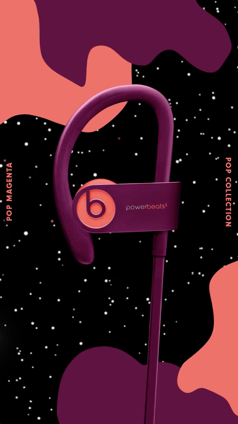 35242ba0dab Upgrade your style this summer with bright and colorful Beats Solo3 Wireless  headphones and Powerbeats3 Wireless earphones in fresh shades of Pop  Violet, ...