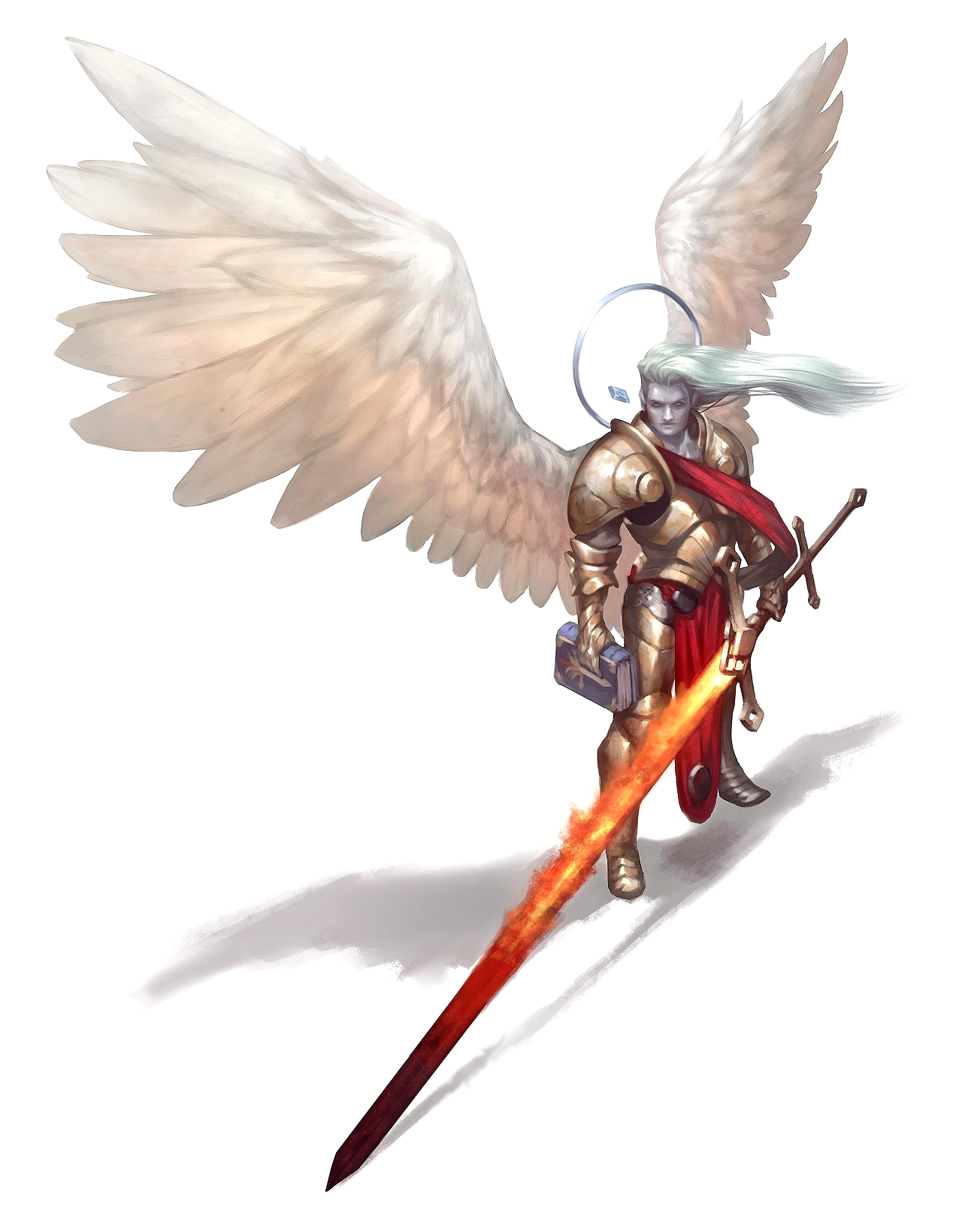 Greatsword Solar Angel Of War Belkzen Pathfinder Pfrpg Dnd D 3 5 5th Ed D20 Fantasy