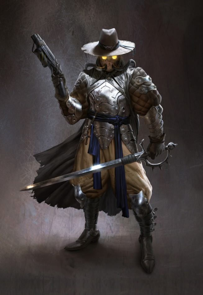 Steampunk Robin Hood Concept Art By Sixmorevodka The