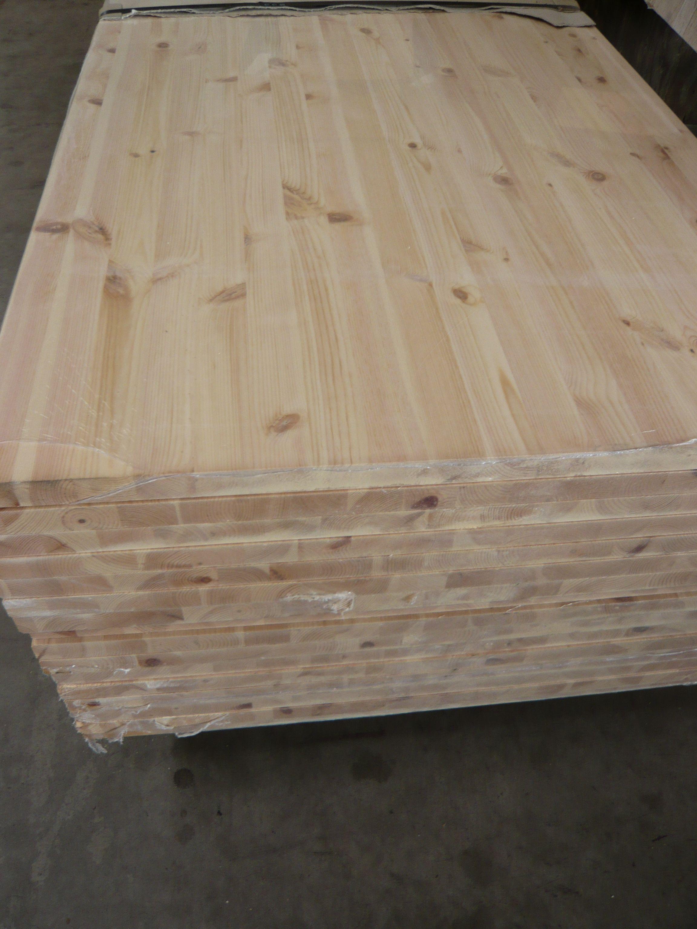 Leimholzplatte Kiefer Holz Leimholz Massiv