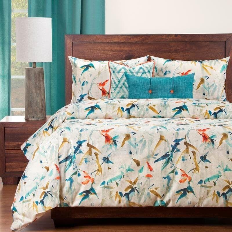 Siscovers Hummingbird 6 Piece Luxury Duvet Set (Twin 5
