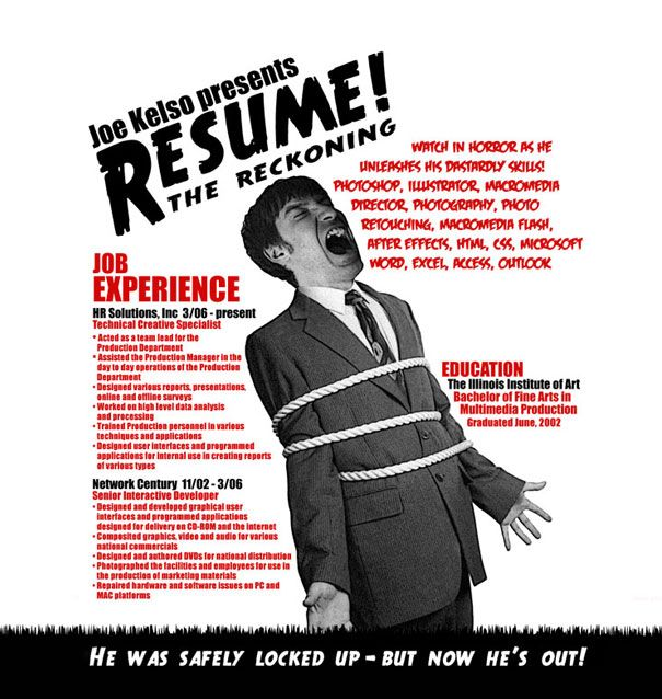15 Cool and Creative Resumes Resume ideas - creative resumes