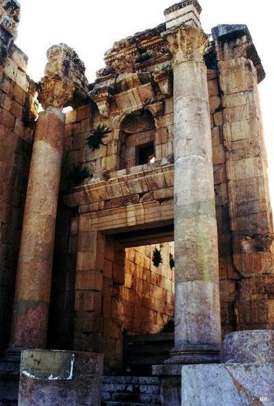 hadrian6:    Viaduct church. Jerash. Jordon.   http://hadrian6.tumblr.com