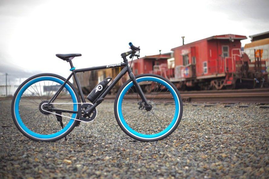 Propella S Lightweight Electric Bike Rides Like A Regular Bike