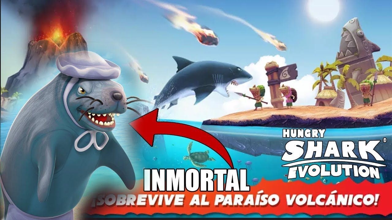 descargar hungry shark evolution hackeado 2019