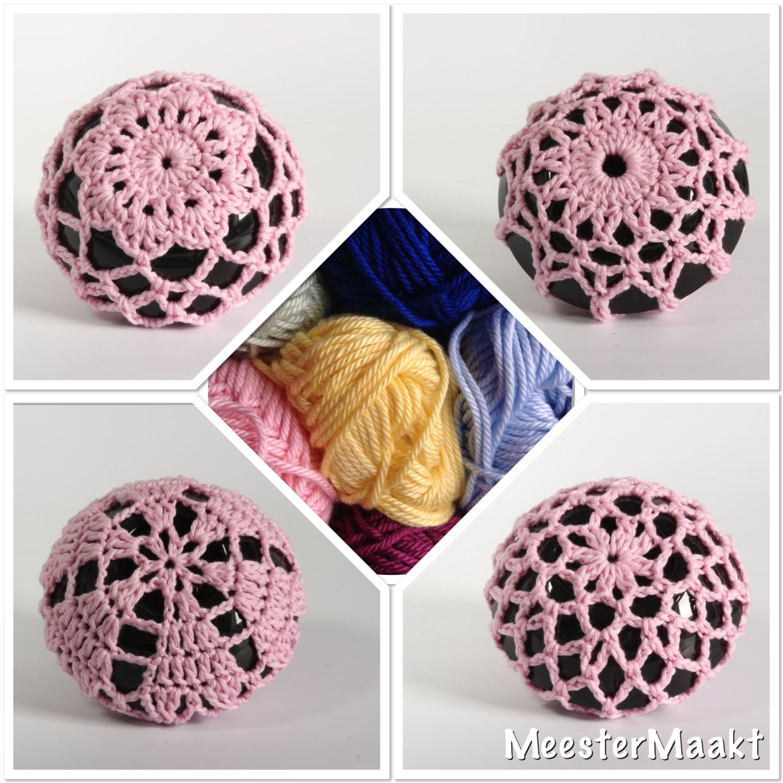 Dance Gear Crochet Bun Covers