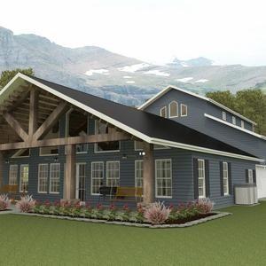 Brn07d house floor plans 1 932 sqft 4 bedroom 3 bath 1 story barn style bardominum